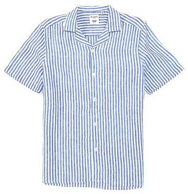 affordable alternative Sean Connery James Bond Thunderball stripe check shirt