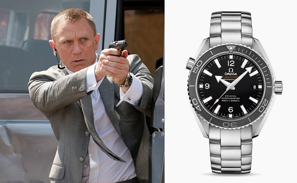 Daniel Craig James Bond Omega Planet Ocean Skyfall