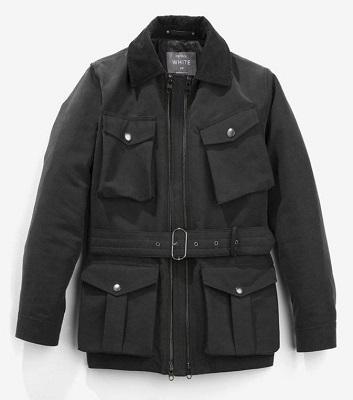 Waxed cotton moto jacket 5 Things I want June
