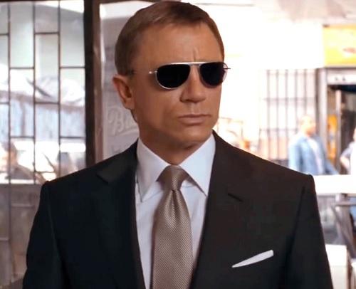 Daniel Craig James Bond Quantum of Solace Tom Ford sunglasses