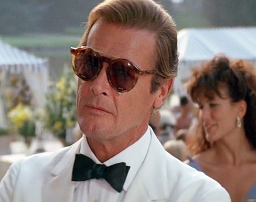 Roger Moore James Bond A View to a Kill Sunglasses