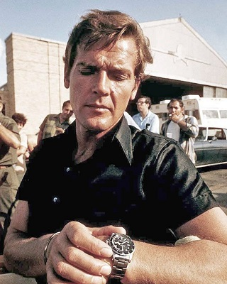 Roger Moore James Bond Live and Let Die Rolex 5513