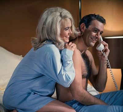James Bond Goldfinger pyjamas