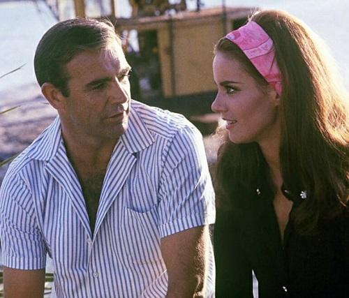 Sean Connery James Bond Thunderball stripe shirt