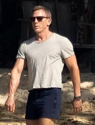 Daniel Craig James Bond Bond 25 swim shorts