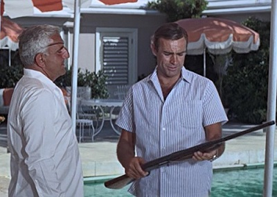 Sean Connery James Bond Thunderball shirt