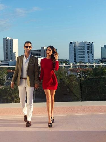 Bond style romantic evening