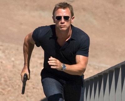 Daniel Craig James Bond Quantum of Solace Tom Ford Polo