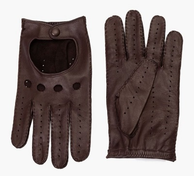 Steve McQueen Leather Driving Gloves