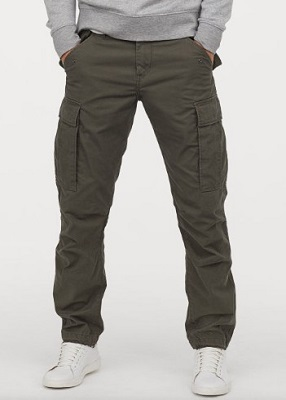 James Bond military style fatigue pants