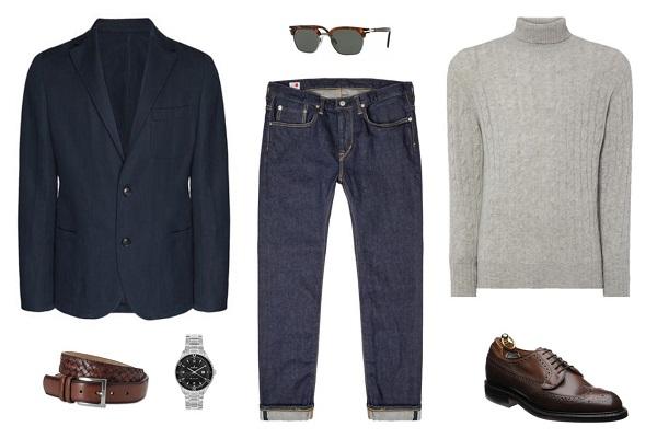 4 Ways to Wear the James Bond Navy Blazer