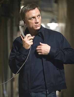 Daniel Craig James Bond Quantum of Solace Tom Ford jacket