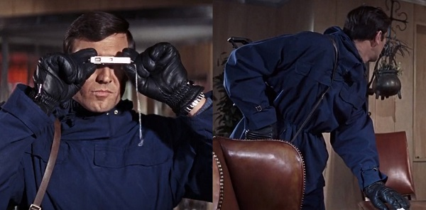 George Lazenby On Her Majesty's Secret Service anorak