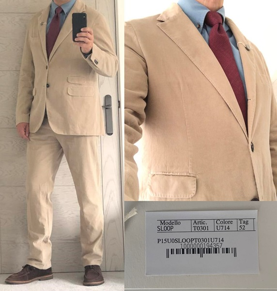 No Time To Die Matera Suit