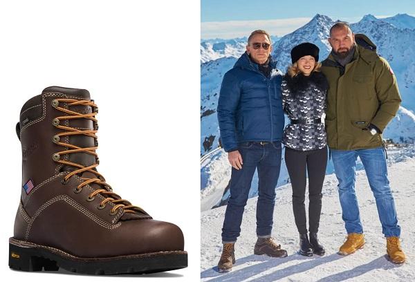 Daniel Craig James Bond Danner hiking boots
