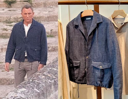 James Bond No Time To Die Matera Jacket