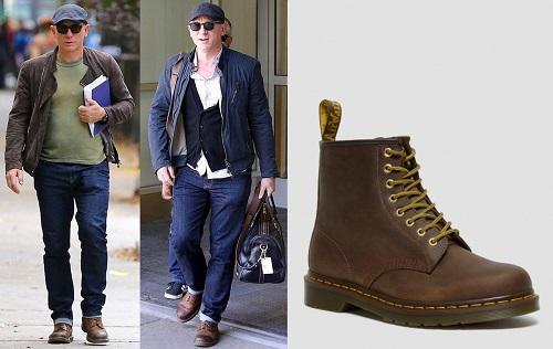 Daniel Craig Dr Marten 1460 Boots