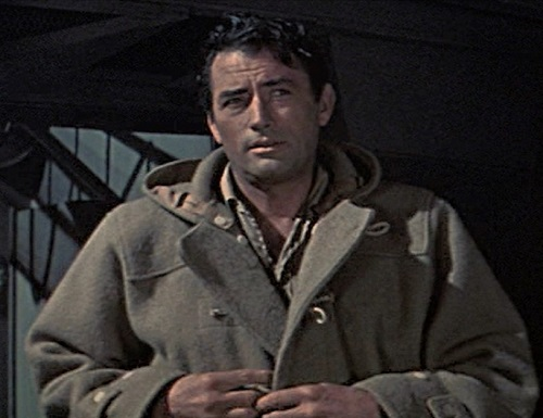 Gregory Peck The Guns of Navarone duffel coat