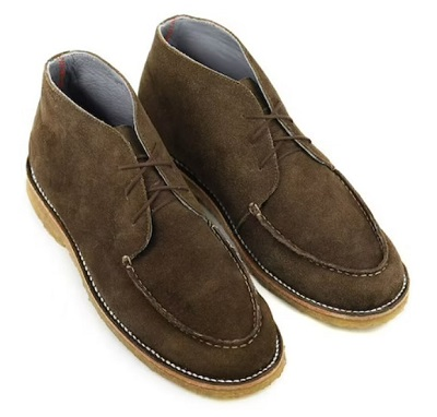 James Bond No Time To Die Matera suede chukka boots affordable alternatives