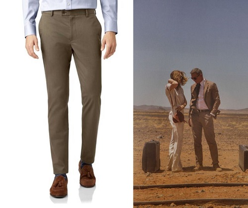 James Bond SPECTRE Morocco Pants budget style alternatives