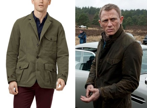James Bond Skyfall Scotland Lodge Jacket alternative