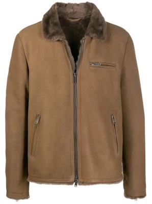 James Bond for Your Eyes Only Shearling Jacket