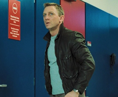 Daniel Craig James Bond Casino Royale Leather Jacket