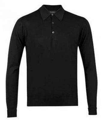 Sean Connery James Bond Thunderball black polo sweater alternative