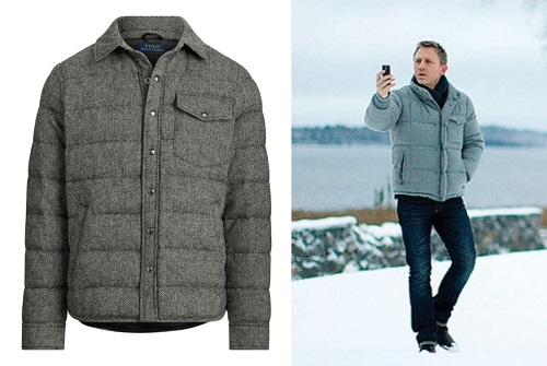Daniel Craig The Girl With The Dragon Tattoo jacket budget style alternative