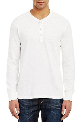 Rag & Bone No Time To Die long sleeve Henley