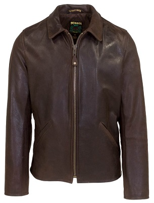 Schott James Bond Skyfall style leather jacket