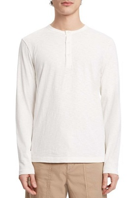 budget No Time To Die long sleeve Henley