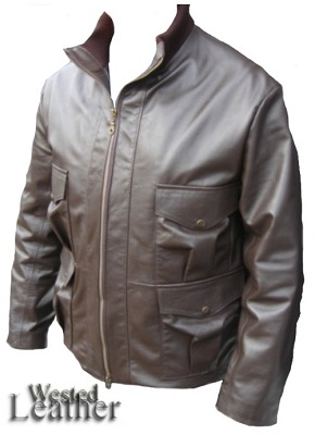 James Bond Casino Royale Leather Jacket affordable alternative