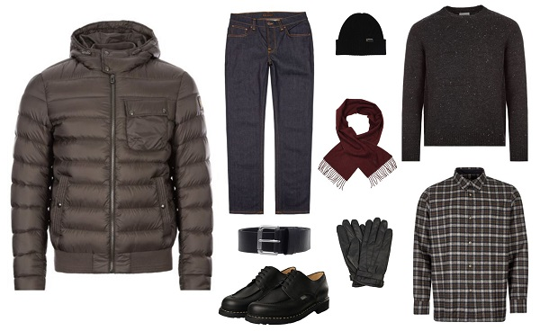 The Art of Layering casual men's heritage style