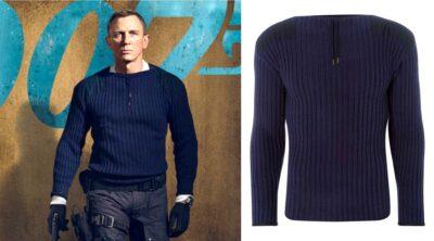 James Bond No Time To Die Commando Sweater