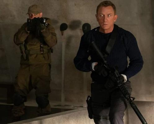 Daniel Craig No Time To Die Commando Sweater