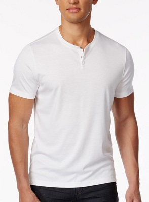 James Bond No Time To Die Short Sleeve Henley Budget alternative