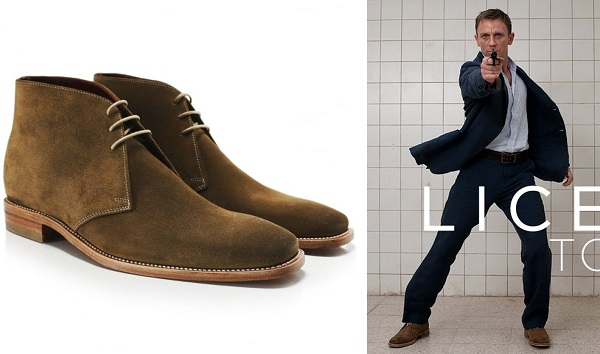 James Bond Suede Chukka Boots Casino Royale