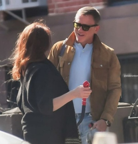 Tom Ford Suede Trucker Jacket Daniel Craig