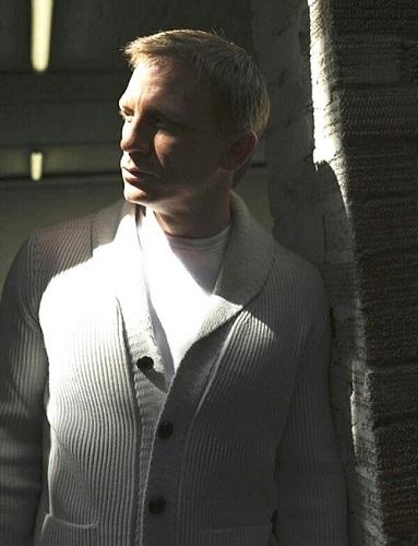 Daniel Craig Tom Ford cardigan