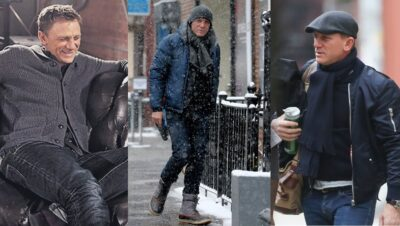 Daniel Craig cold weather style affordable alternatives