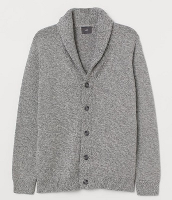 Daniel Craig Prada shawl collar cardigan affordable alternatives