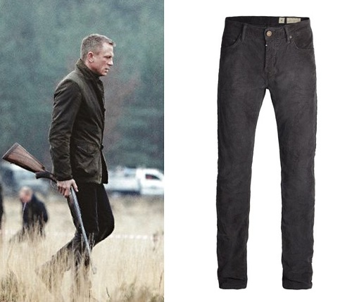James Bond Skyfall All Saints Iggy Corduroy Jeans