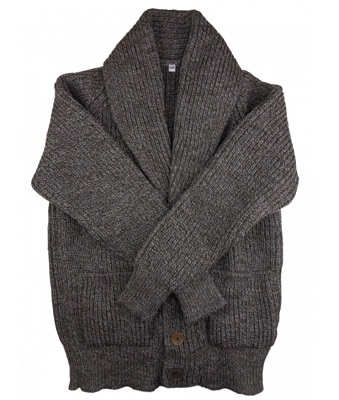 Daniel Craig grey shawl collar cardigan affordable alternatives