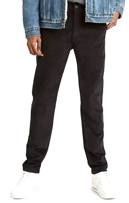 James Bond Not Time To Die black Corduroy Trousers affordable alternative