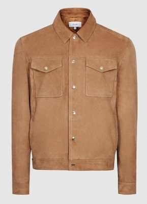 Suede Trucker Jacket Daniel Craig Style alternative