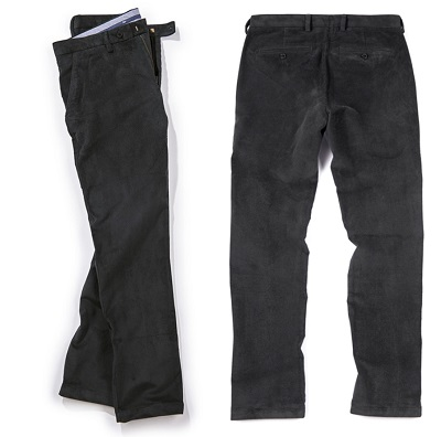 James Bond Not Time To Die Corduroy black Trousers affordable alternative
