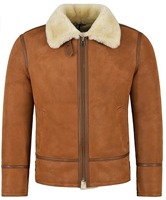 Daniel Craig Style Shearling Jacket alternative