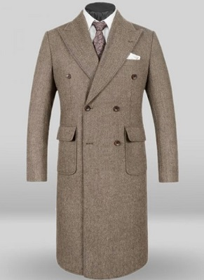 Daniel Craig cold weather style Brunello Cucinelli military officers coat affordable alternative