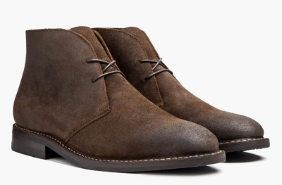 James Bond No Time To Die Suede Chukka Boots Affordable alternatives